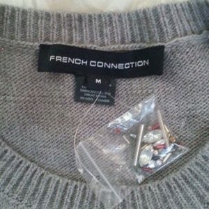 French Connection Sweaters - French Connection Lucky Knits embellished szM NWOT